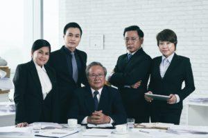 Vietnamese team of lawyers